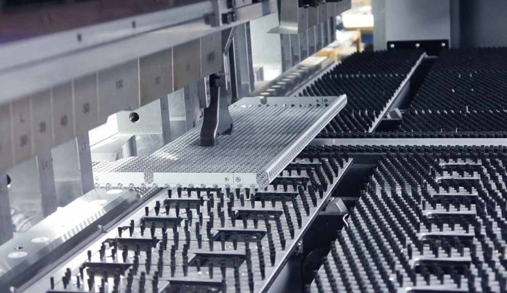 Versatile sheet metal processing