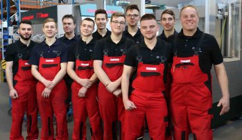20 years of training at BVS Blechtechnik
